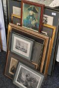 A quantity of various prints of Nelson and Trafalgar.