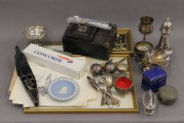 A quantity of miscellaneous items, including silver plate, pictures, etc.