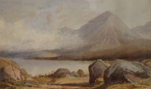 POYNTER SNR (19th century) British, Morning Mist on Loch Sligachan, Isle of Skye, dated 1882,
