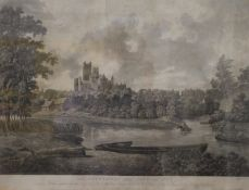 DANIEL HAVELL (1785-1826) British, The Cathedral and City of Ely, etching, framed and glazed.