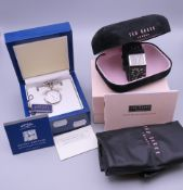 Two boxed watches, Ted Baker and Rotary.