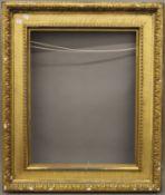 A gilt Watts frame. 64 x 77 cm overall.