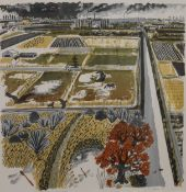 CARRY AKROYD (20th/21st century) British, A Reedbed, limited edition print, numbered 4/50,