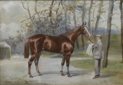JOHN BEER (1860-1930) British, Marcovil by Marco - Lady Villiking,