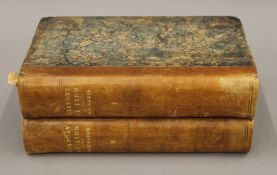A History of Lynn in two volumes by William Richards M.A., dated 1812.