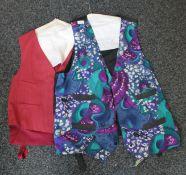 Two waistcoats.