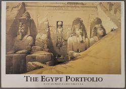 The Egypt Portfolio, ten prints by DAVID ROBERTS, R.A.