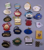 Sixteen Annual Member horse racing badges for Newmarket (1999-2014 inclusive) and two Guest race