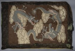 A Japanese embroidery.