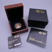 A 2013 proof sovereign, in presentation box and with certificate.
