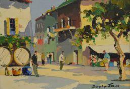 CECIL ROCHFORT D'OYLY-JOHN (1906-1993) British (AR), The Old Ville, Nice, Nr Monte Carlo,