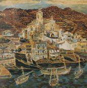 MAURICE BOITEL (1919-2007) French (AR), Cadaques, Catalunia, Spain, limited edition print,