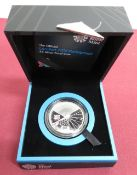 Royal Mint The Official London 2012 Paralympic £5 Silver Proof coin, in case