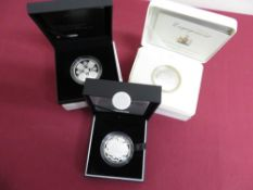 Royal Mint 2013 Birth of HRH Prince George of Cambridge £5 Silver Proof Coin, in case and card box