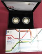 Royal Mint 150th Anniversary of the London Underground, Tales from the Tube, £2 silver proof two