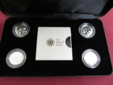 Royal Mint 2013 Icons of a Nation: England, Wales 2014 N. Ireland Scotland silver proof £1 coins