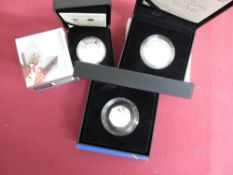 Royal Mint 2015 HRH Princess Charlotte Christening UK £5 silver proof coin, 2014 Glasgow