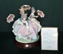 """Lladro figurine 1492 """"Three Sisters"""" Limited Edition Number 1761/3000, in original box with signed"""