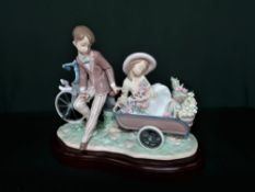 "Lladro figurine 5958 ""Country Ride"" in original box. H27cm, including base."
