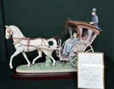 """Lladro figurine 1834 """"A Day With Mom"""", Limited Edition Number 150/1000, in original box with"""