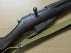 Registered Firearms Dealer Only - Battle field relic Negant rifle with sling (RFD Only)
