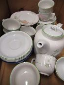 Collection of various dinner and other tableware, including Denby, Spode, Poole tea service, etc (