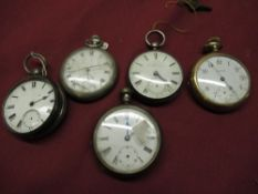 J.E.H Matthews, Oswestry, silver cased open faced key wound pocket watch, London 1859, gilt full