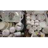 "Paragon ""Belinda"" tea service, Royal Doulton ""Florinda"" stoneware dinner service and other tea and"