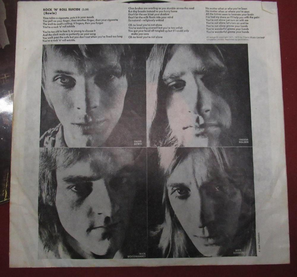 Collection of various LP's including Jimi Hendrix, Focus, David Bowie, Queen, Kat Stevens, Jo - Image 3 of 3