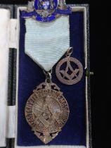"Masonic medal inscribed ""Belfast City Temperance Masonic Lodge 481"" presented to W.BRO.N.G."