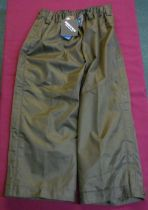 Pair of Crieff short over trousers, colour pine green, size M