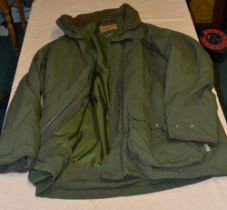 Schoffel gortex outdoor sporting coat, olive green 48 chest as new