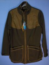Winster soft shell jacket, colour black coffee, size L