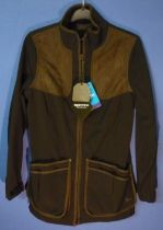 Winster soft shell jacket, colour black coffee, size M