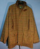Alan Paine Combrook waterproof membrane coat, size S