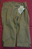 Alan Paine Dunswell waterproof breeks, colour olive, size UK 40