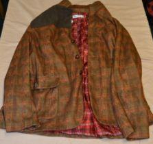 Order plus stylish shooting jacket in brushed cotton XXXL, Order plus shooting jacket in light