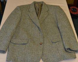 Hand woven Harris Tweed sports jacket