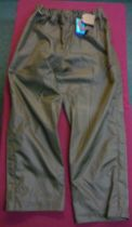 Seeland Crieff overtrousers, pine green, size XL