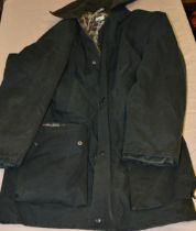 Country style Scats wax type jacket medium