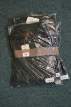 four Laksen Buck polo shirts size L