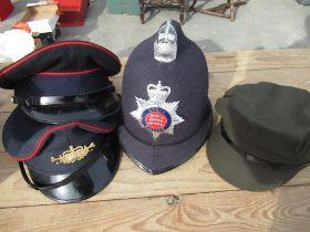 Crompton Webb (Headress) Ltd 94 Newland Whitney Oxen, GB police helmet, Herbert Johnson 38 New