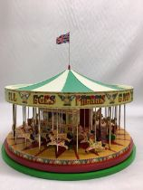 """1:50 scale Corgi Fairground Attractions """"South Down Gallopers"""" carousel No. CC20401. Limited edition"""