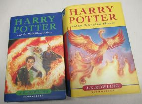 """J K Rowling, """"Harry Potter and the Half Blood Prince"""" published Bloomsbury Publishing Plc first"""