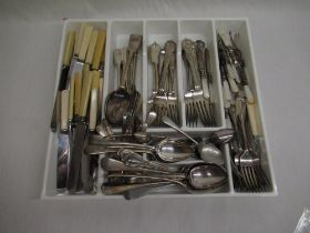 Collection of assorted cutlery
