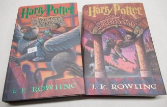 """J K Rowling, """"Harry Potter & the Sorcerers' Stone"""" published by the Scholastic Press, first American"""