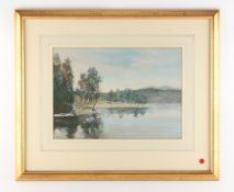 Property of a lady - English school, early / mid 20th century - LOCH BENAVEAN, GLEN AFFRIC -