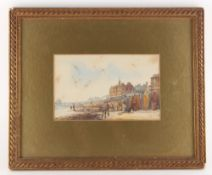 Property of a gentleman - Conrad R. Andreae (1871-1956) - BRIGHTON SEA FRONT - watercolour, 5.3 by