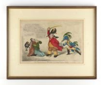 Sold on behalf of Marie Curie charity - GILLRAY, James (1756-1815) - 'The Magnanimous Minister,