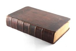 Property of a lady - 'THE HOLY BIBLE..........WITH PRACTICAL OBSERVATIONS ON EACH CHAPTER BY THE